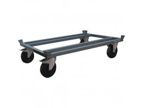 Podvozek pro palety Manu Acier, 120 x 80 cm, do 1 200 kg