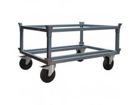 Podvozek pro palety Manu, 120 x 80 cm, do 1 200 kg