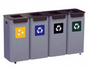 modulova stanice na trideni odpad ve skolach uradech nakupnich centrech 4moduly