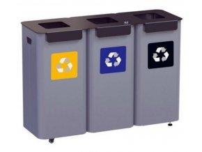 modulova stanice na trideni odpad ve skolach uradech nakupnich centrech 3moduly