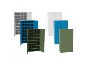 kovove dilenske skrine s prihradkami sfr322 180 x 100 x 53 cm