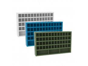 kovove dilenske skrine s prihradkami sfr511 90 x 150 x 25 cm