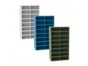 kovove dilenske skrine s prihradkami sfr161 180 x 100 x 50 cma