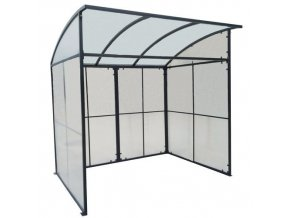Krytý přístřešek s obloukovou střechou Manu