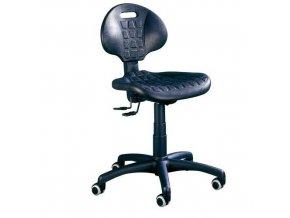 Pracovní židle Nelson SY s měkkými kolečky