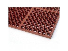 Protiúnavová gastro rohož s děrovaným povrchem, 150 x 100 cm