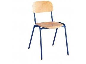 Dřevěná jídelní židle Kate Blue