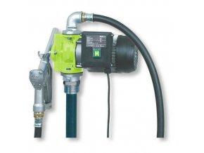 Elektrické sudové čerpadlo pro výdej olejů