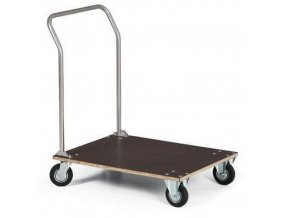 Plošinový vozík s madlem, do 150 kg