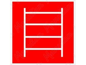 Požární fotoluminiscenční bezpečnostní tabulky - Požární žebřík