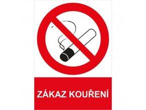 Zákazová bezpečnostní tabulka - Zákaz kouření, 297 x 210 mm