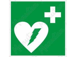 Tabulky bezpečí - Defibrilátor
