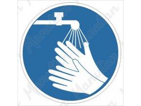 Příkazová tabulka - Před začátkem práce si umyj ruce