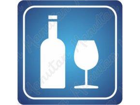Informační tabulka - Bar, pohostinství, hospoda, nápoje