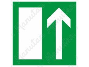 Tabulka bezpečí - Směr úniku