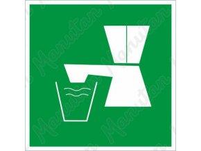 Tabulka bezpečí - Pitná voda
