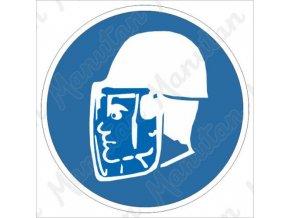 Příkazová tabulka - Používej obličejový štít