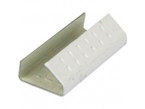 Ocelové spony pro páskovače, 13 mm