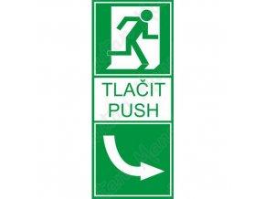 Tabulka bezpečí - Tlačit vpravo