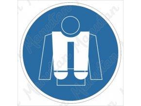 Příkazová tabulka - Použij záchrannou vestu