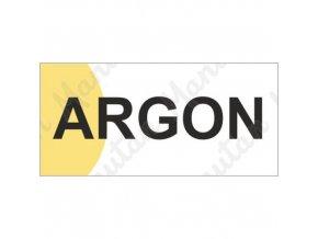 Informační tabulky - Argon