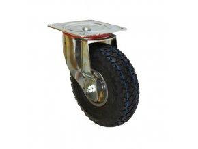 Bantamové kolo s přírubou, průměr 260 mm, otočné, valivé ložisko