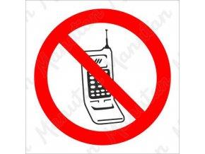 Zákazová tabulka - Zákaz telefonování
