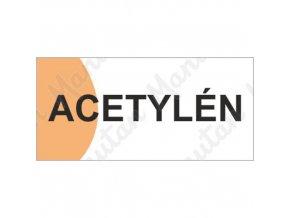Informační tabulky - Acetylén