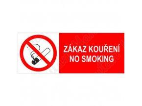 Zákazová tabulka - Zákaz kouření, No smoking