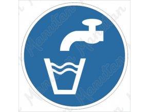 Příkazová tabulka - Pro použití pitné vody