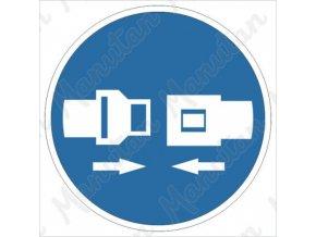 Příkazová tabulka - Použij bezpečnostní pás