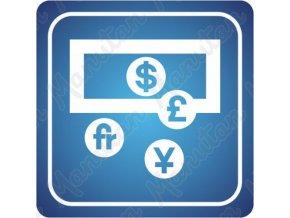 Informační tabulka - Bankomat