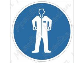 Příkazová tabulka - Používej ochranný oděv