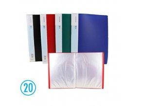 Katalogová kniha DELI 20l, modrá