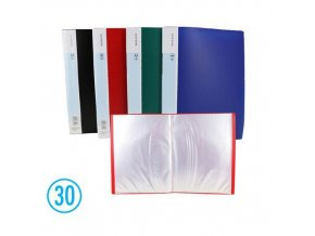 Katalogová kniha DELI 30l, modrá
