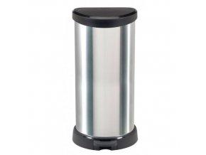 Plastový odpadkový koš Decobin, objem 40 l