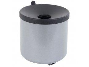 Nástěnný popelník Manu Round, šedý