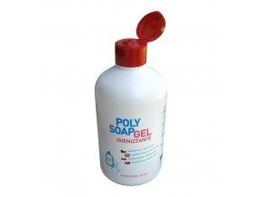 Dezinfekční gel na ruce Polysoap, flip-top uzávěr, 500 ml, 1 ks