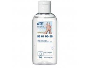 Gelový dezinfekční prostředek Tork Premium Alcohol 80ml