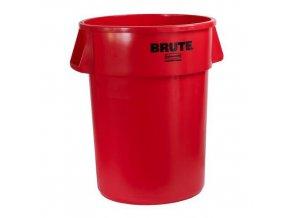 Plastový kontejner Rubbermaid Brute na tříděný odpad, objem 167 l