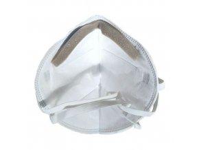 Skládací respirátor GPP HJR-CN99-06, třída ochrany FFP3, 5 ks