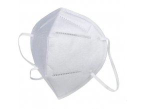 Skládací respirátor GPP 2, třída ochrany FFP2, 10 ks