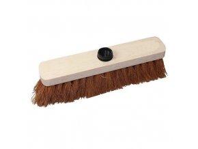 Dřevěný smeták Manutan Short S bez tyče, 40 cm