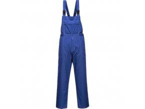 Laclové kalhoty chemicky odolné, modrá, vel. XXL