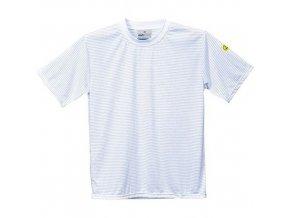 ESD antistatické triko, bílá, vel. L
