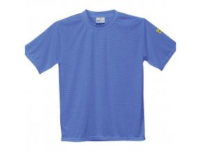 ESD antistatické triko, modrá, vel. XXL