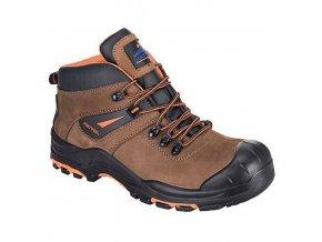 Kotníková obuv Portwest Compositelite Montana Hiker S3, hnědá, vel. 48