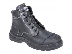 Bezpečnostní obuv Clyde S3 HRO CI HI FO, černá, vel. 47
