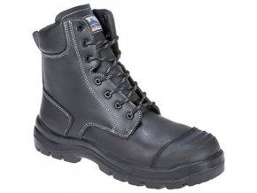 Bezpečnostní obuv Eden S3 HRO CI HI FO, černá, vel. 38