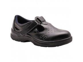 Bezpečnostní sandál Steelite S1, černá, vel. 48